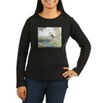 Price's Frog Prince Women's Long Sleeve Dark T-Shi