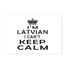 I Am Latvian I Can Not Keep Calm Postcards (Packag