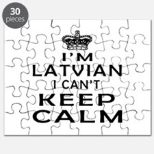 I Am Latvian I Can Not Keep Calm Puzzle