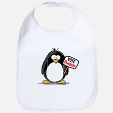 Vote Penguin Bib