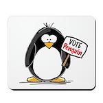 Vote Penguin Mousepad