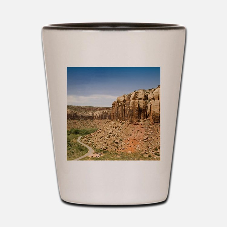 rndornaIndianCreek Shot Glass