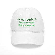 notperfect_rect2 Baseball Cap