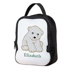 Baby Polar Bear Neoprene Lunch Bag