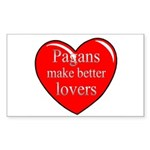 Pagan Lovers Rectangle Sticker
