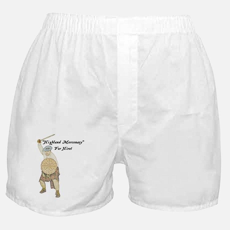 highland-mercenary001b1 Boxer Shorts