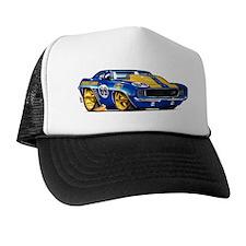 MM69camaroBluHdFloat Trucker Hat