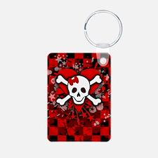 4SlideriPhone-SkullRomance Keychains
