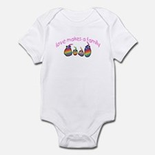 Love Makes A Family Infant Bodysuit