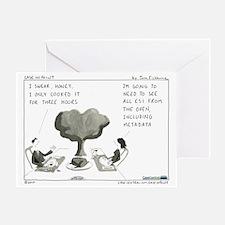 101122b.holiday_metadata Greeting Card
