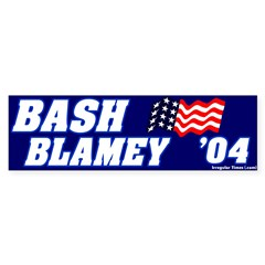 Mock Bash Blamey Bumper Bumper Sticker