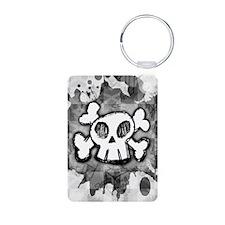 4SlideriPhone-CartoonSkull Keychains