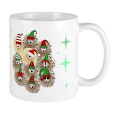 Hedgehog Holiday Mugs