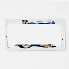 28ABlueWhiteSCoT License Plate Holder