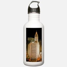Wrigley Building, Chic Water Bottle