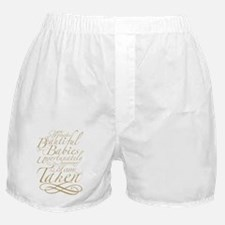 Taken beige Boxer Shorts