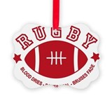 Rugby Ornaments