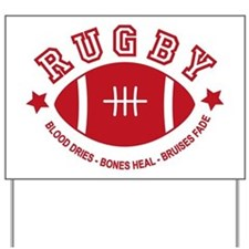 Rugby Yard Sign