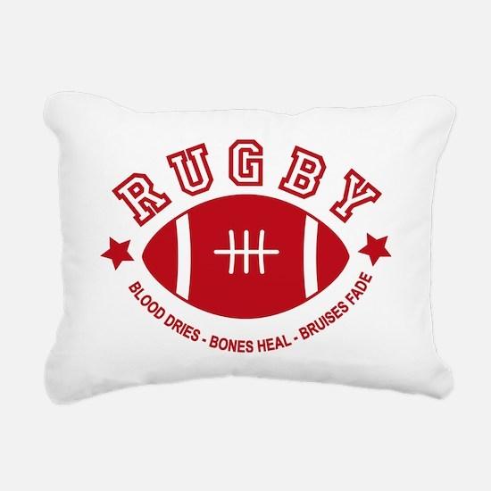 Rugby Rectangular Canvas Pillow