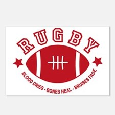Rugby Postcards (Package of 8)
