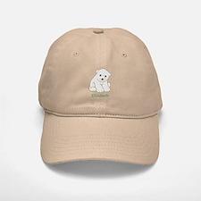 Baby Polar Bear Baseball Cap