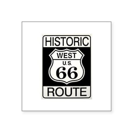 Route 66 Oval Sticker