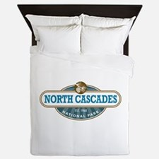 North Cascades National Park Queen Duvet