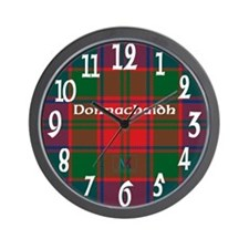 Clan Donnachaidh Wall Clock