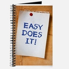 Easy Does It Journal