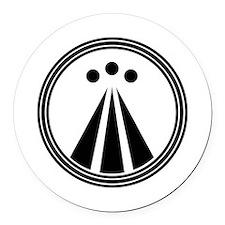 OBOD Round Car Magnet