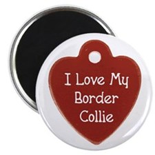 Collie Tag Magnet