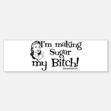 sugarbitch_black Bumper Bumper Bumper Sticker