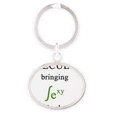 calculus Oval Keychain