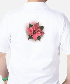 Pink Poinsettia T-Shirt