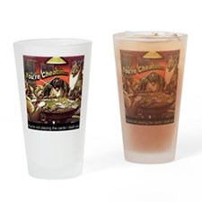 YoureCheatin12x12 Drinking Glass