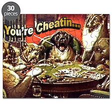 YoureCheatin12x12 Puzzle