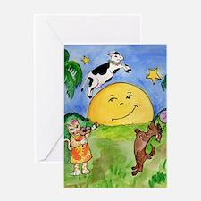 catandthefiddle Greeting Card