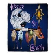 Peace On Earth PosterP Throw Blanket