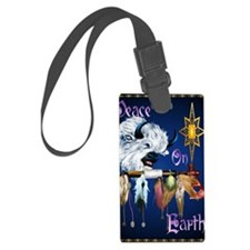 Peace On Earth PosterP Luggage Tag