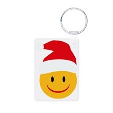 Christmas Aluminum Photo Keychain