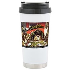 YoureCheatin6x4 Travel Mug