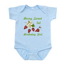 Berry Sweet 1st Birthday Infant Bodysuit