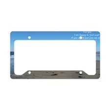 NhOnBchCAtxt12x5 License Plate Holder