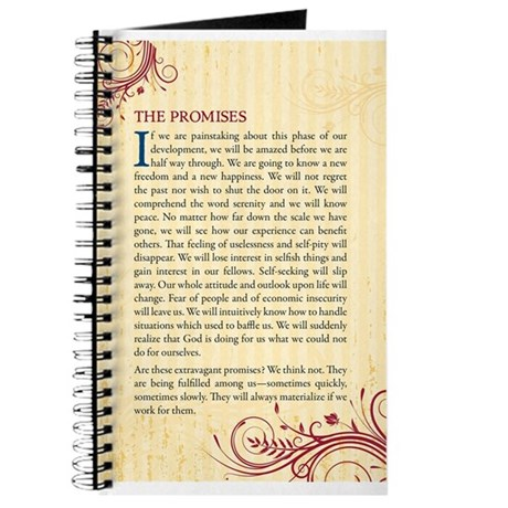 The Promises of Alcoholics Anonymous Journal