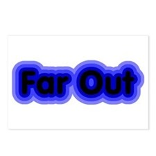 Far Out Postcards (Package of 8)