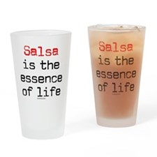 Salsa Life 1a Drinking Glass