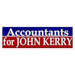 Accountants for John Kerry (sticker)