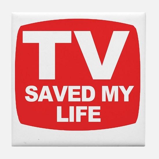 savedmylife Tile Coaster