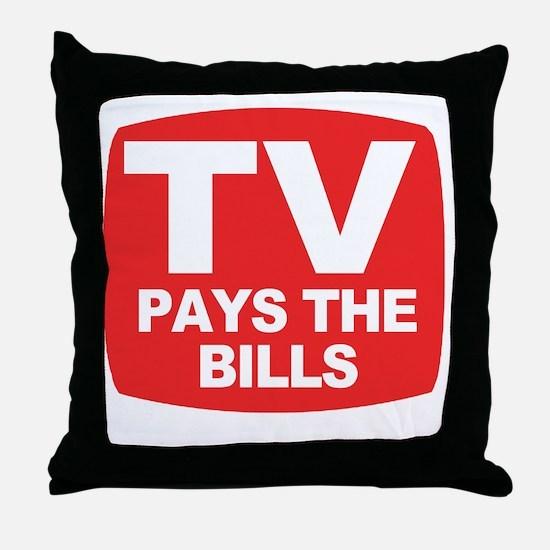 paysthebills Throw Pillow