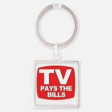 paysthebills Square Keychain